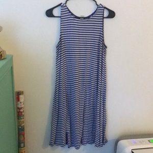 Old Navy - Blue Striped dress